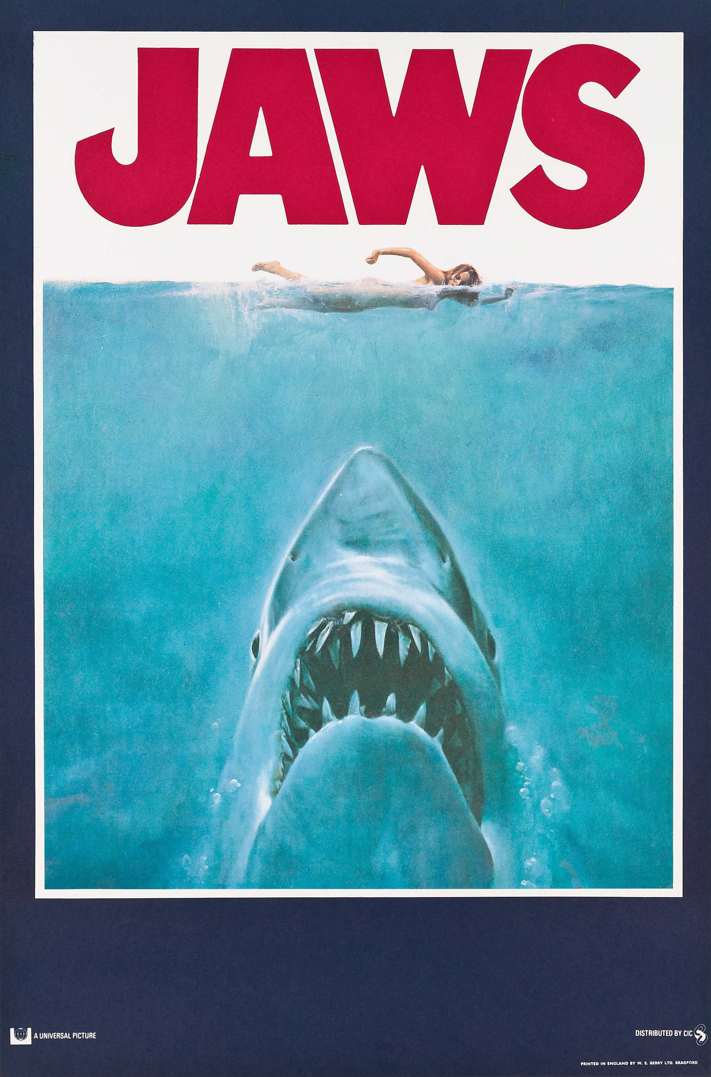 Jaws ⋆ Retro Movie PosterRetro Movie Poster