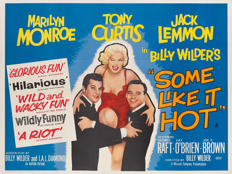 "61 YEARS OF ""SOME LIKE IT HOT"""