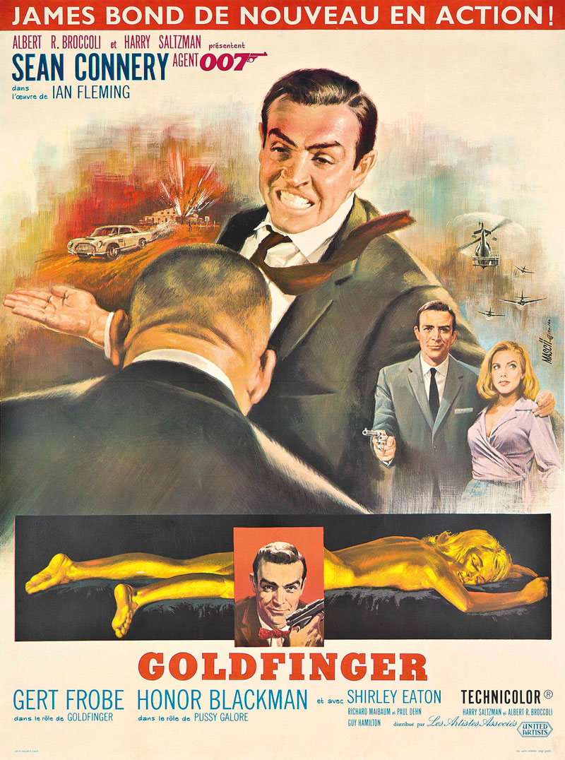 James Bond – Goldfinger (French Version)