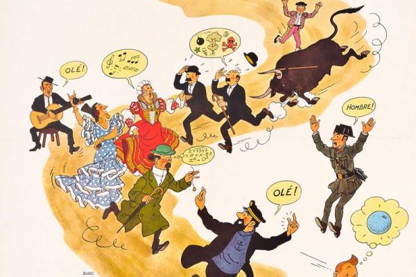 Tintin et les oranges bleues (French)