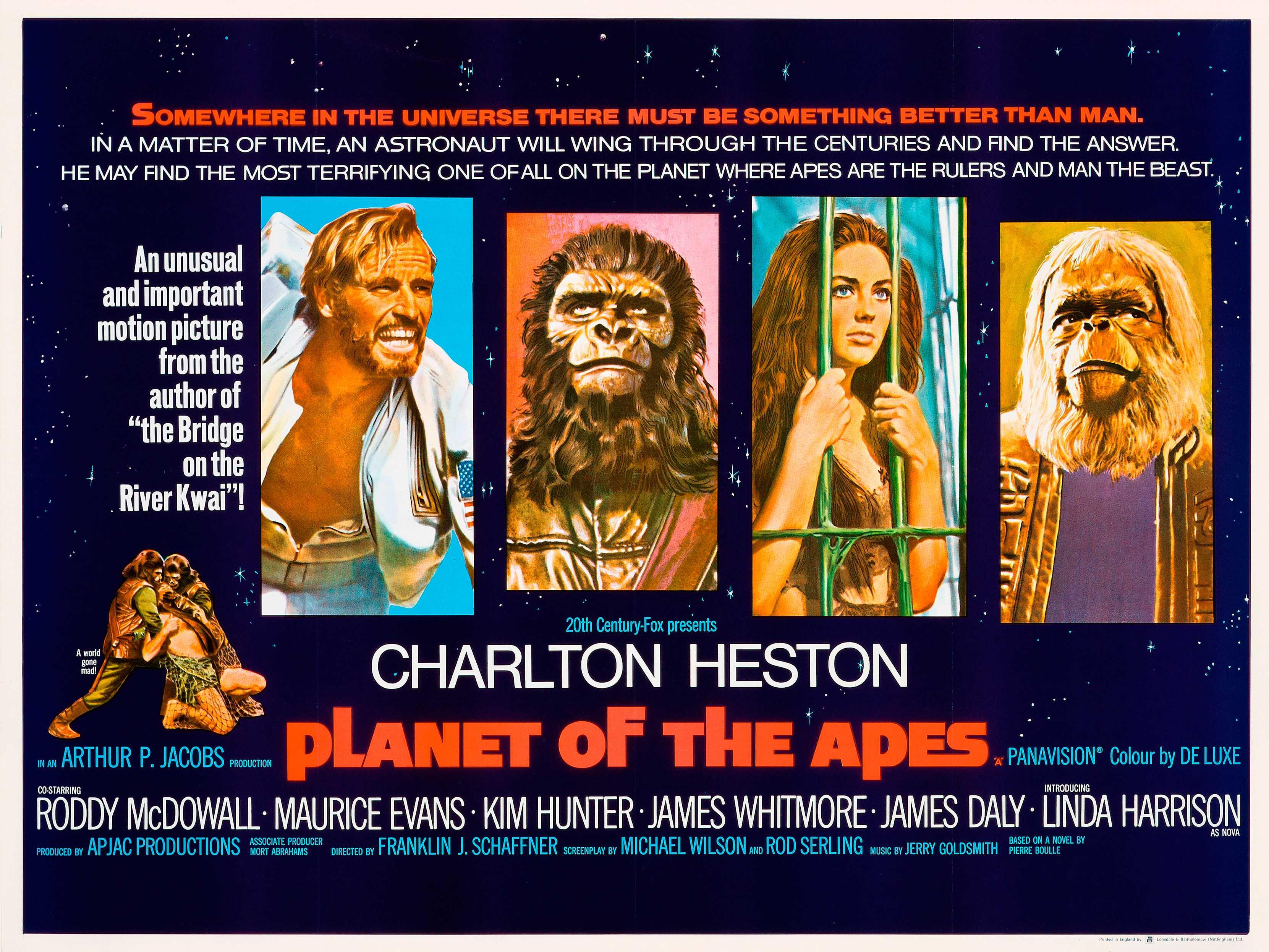 planet of the apes retro movie posterretro movie poster