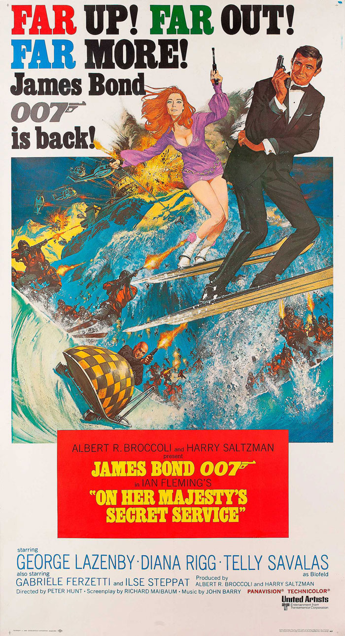 James Bond – On Her Majesty's Secret Service