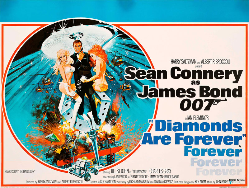 James Bond – Diamonds are Forever
