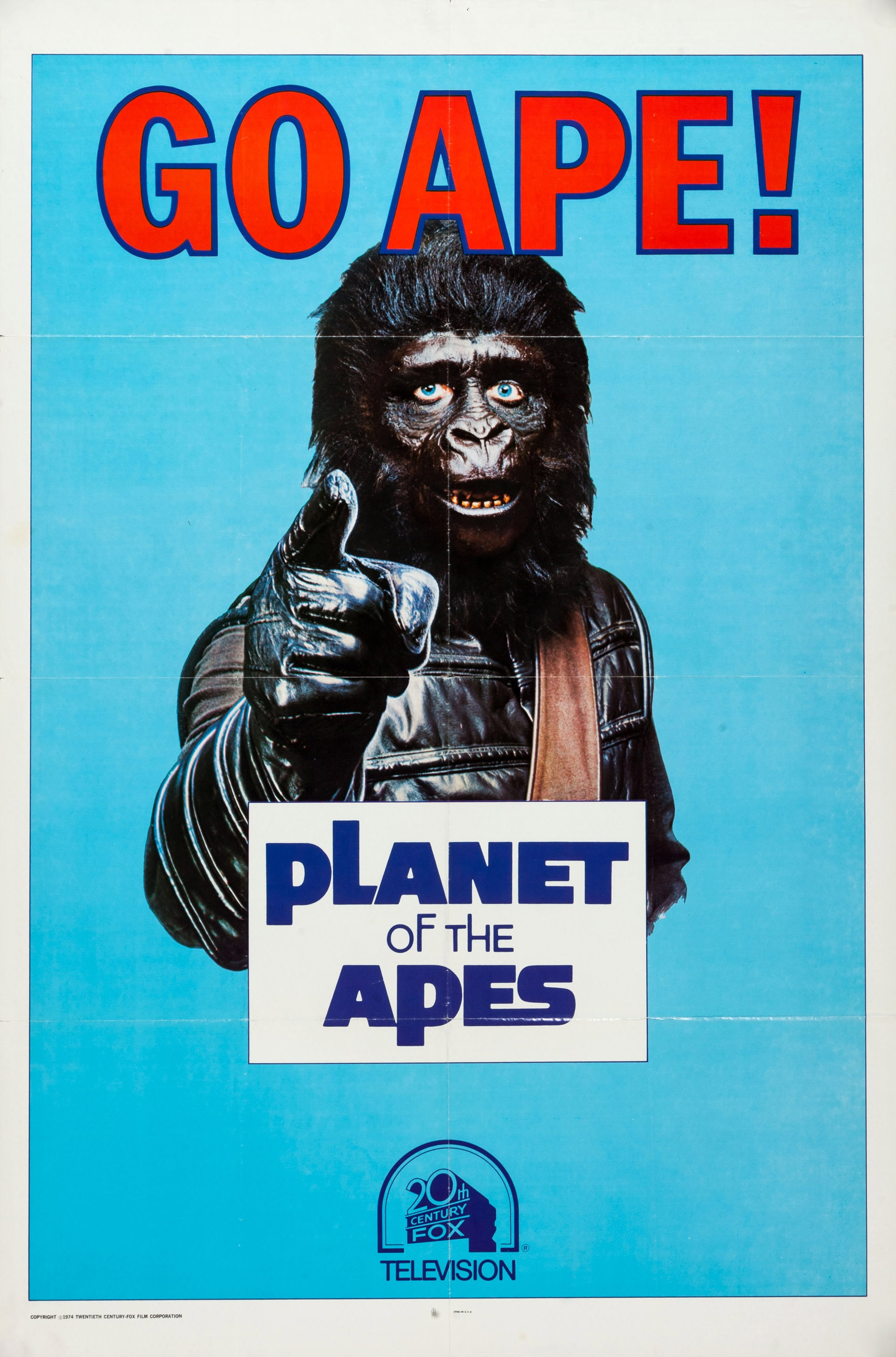 planet of the apes v2 retro movie posterretro movie poster