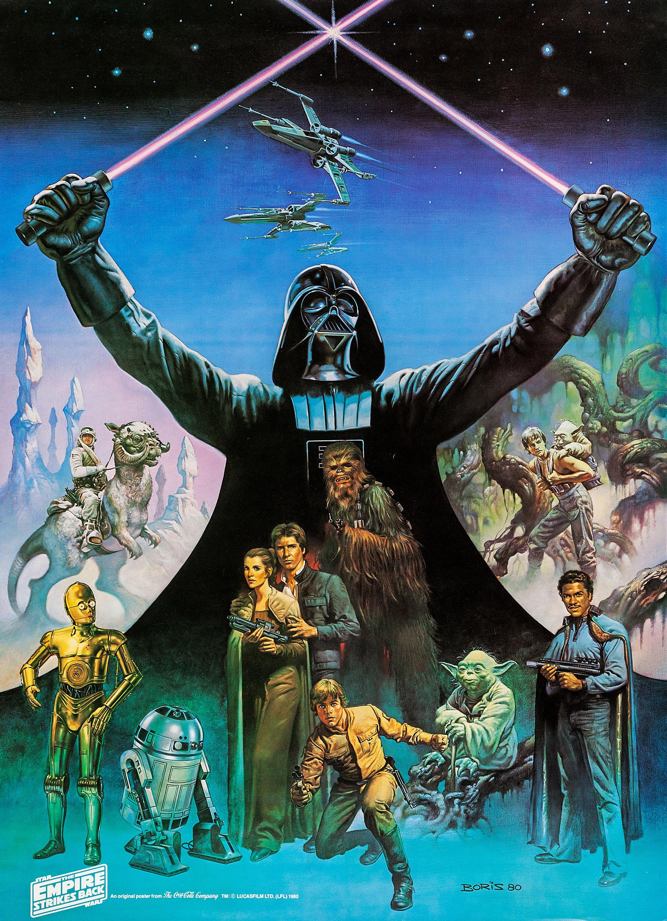 Star Wars The Empire Strikes Back ⋆ Retro Movie